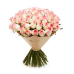 60 Stems Pink Rose Bunch